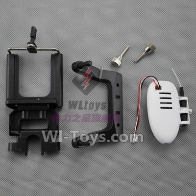 Wltoys Q222K Q222G Drone Parts-Wifi Real-time image transmission FPV Aerial Kit (Include Camera,Suppor frame),Wltoys Q222K Q222G Parts