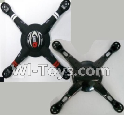 Wltoys Q303 Drone Parts-Upper and Bottom shell body cover,Wltoys Q303 Parts,Wltoys Q303-A-B-C Parts