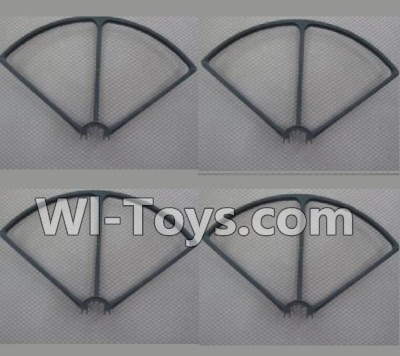 Wltoys Q303 Drone Parts-Outer protect frame(4pcs),Wltoys Q303-A-B-C Parts