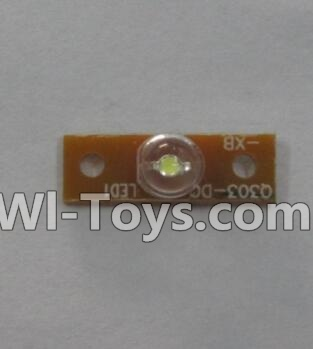 Wltoys Q303 Drone Parts-Front Small light plate,Wltoys Q303-A-B-C Parts