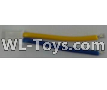 Wltoys Q323 Drone Parts-Motor convert wire with Yellow and Blue wire(1pcs)Wltoys Q323-B Q323-C Q323-E Parts