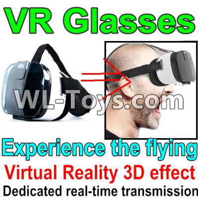 Wltoys Q323 Drone Parts-3D VR Glassess-It suit 4-6.5 inches phone,2,000,000 pixels,You can experience the flying feelingWltoys Q323-B Q323-C Q323-E Parts
