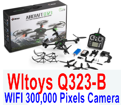 Wltoys Q323-B RC Quadcopter (Include the Ordinary Wifi 300,000 Pixels Camera unit Parts and Mobile phone support frame),Wltoys Q323 Drone Parts-RC Quadcopter Drone