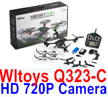 Wltoys Q323-C Wifi Quadcopter (Include the HD 720P Camera unit Parts ),Wltoys Q323 Drone Parts-RC Quadcopter Drone