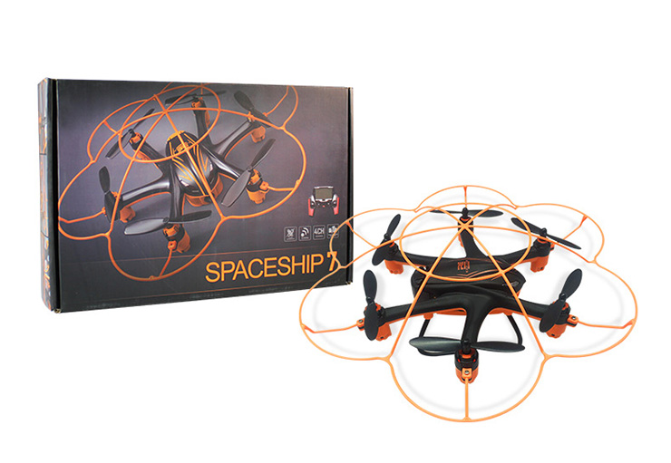 Wltoys Q383-A Hexacopter Drone-FPV (Include the 5.8G HD Camera,Support frame And 5.8G Real-time image transmission FPV Aerial Receiving Screen with Antena) Wltoys-Quadcopter-all