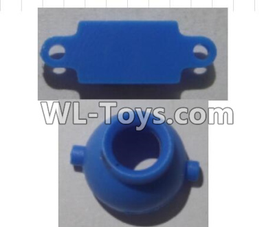 Wltoys Q626 Q626-B Drone Parts-Camera head cover-Blue,Wltoys Q626-B Parts