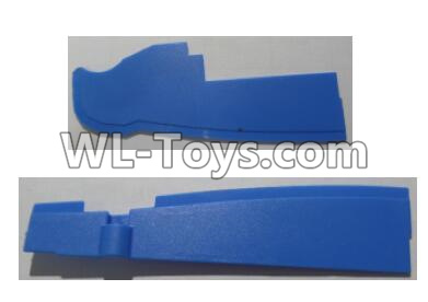 Wltoys Q626 Q626-B Drone Parts-Front and rear baffle plates-Blue,Wltoys Q626-B Parts