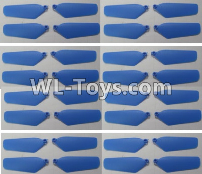 Wltoys Q626 Q626-B Drone Parts-Main rotor blades,Propellers(32pcs)-Blue,Wltoys Q626-B Parts