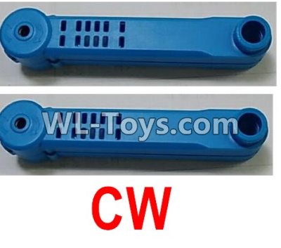 Wltoys Q626 Q626-B Drone Parts-Rotating arm unit(2pcs CW)-Blue,Wltoys Q626-B Parts
