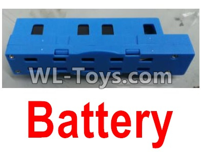 Wltoys Q626 Q626-B Drone Parts-Lipo Battery Parts(1pcs)-Blue,Wltoys Q626-B Parts