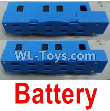 Wltoys Q626 Q626-B Drone Parts-Lipo Battery Parts(2pcs)-Blue,Wltoys Q626-B Parts
