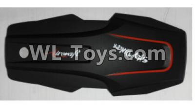 Wltoys Q626 Q626-B Drone Parts-Shell cover-Black,Wltoys Q626-B Parts