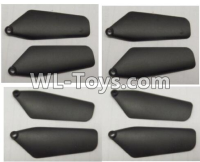 Wltoys Q626 Q626-B Drone Parts-Main rotor blades,Propellers(8pcs)-Black,Wltoys Q626-B Parts