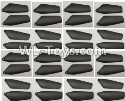 Wltoys Q626 Q626-B Drone Parts-Main rotor blades,Propellers(32pcs)-Black,Wltoys Q626-B Parts