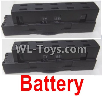 Wltoys Q626 Q626-B Drone Parts-Lipo Battery Parts(2pcs)-Black,Wltoys Q626-B Parts