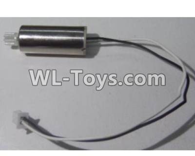 Wltoys Q626 Q626-B Drone Parts-Reversing-rotating Motor with Black and white wire(1pcs)-L90,Wltoys Q626-B Parts