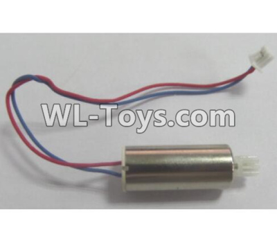 Wltoys Q626 Q626-B Drone Parts-rotating Motor with red and Blue wire(1pcs)-L90,Wltoys Q626-B Parts