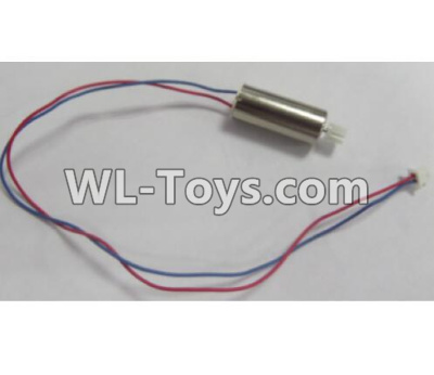 Wltoys Q626 Q626-B Drone Parts-Rotating Motor with red and Blue wire(1pcs)-L170,Wltoys Q626-B Parts