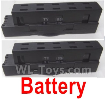 Wltoys Q636-B Drone Parts-LI-Poli Battery(2pcs)-3.7V 700MAH 20C,Wltoys Q636-B Parts