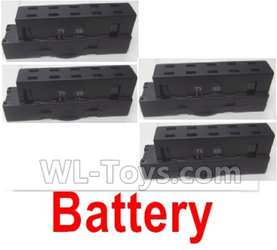Wltoys Q636-B Drone Parts-LI-Poli Battery(4pcs)-3.7V 700MAH 20C,Wltoys Q636-B Parts