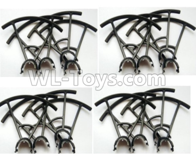Wltoys Q818 Drone Parts-Outer protect frame(16pcs)-Q838-E-13,Wltoys Q818 Parts