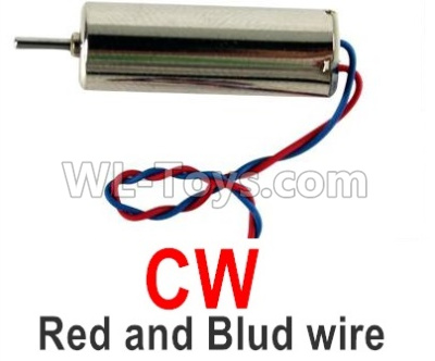 Wltoys Q818 Drone Parts-Main motor with Red and Blue wire(1pcs-CW,Clockwise)-Q838-E-17,Wltoys Q818 Parts