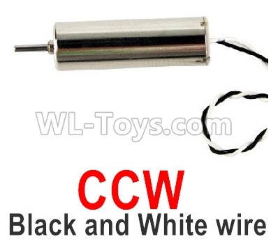 Wltoys Q818 Drone Parts-Main motor with Black and White Wire(1pcs-CCW-Counterclockwise)-Q838-E-18,Wltoys Q818 Parts