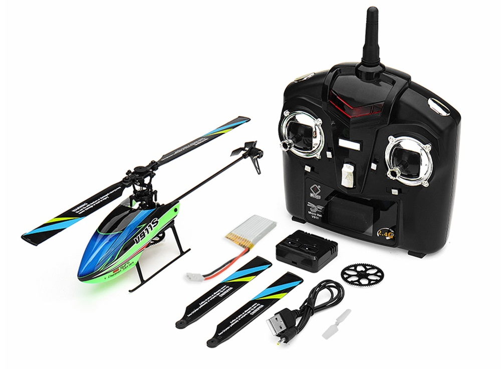 WLtoys V911S rc helicopter,Wl toys V911S 2.4G 4CH 6-Aixs Gyro Flybarless rc helicopter