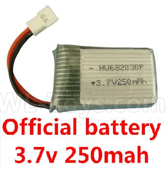 Wltoys V911S 3.7v 250mah battery(1pcs)-V966.016,Wltoys V911 Parts