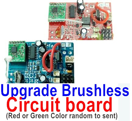 Wltoys V913 Upgrade Brushless circuit board(Red and Green color ramdom to sent it ou),Wltoys V913 Parts
