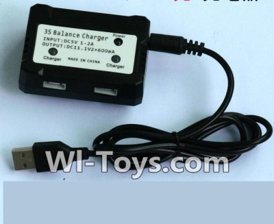 Wltoys V950 RC Helicopter Parts-Upgrade USB And Balance charger-Can charger two battery at the same time,Wltoys V950 Parts