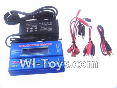 Wltoys V950 RC Helicopter Parts-Upgrade B6 Balance charger and Power Charger unit(Can charger 2S 7.4v or 3S 11.1V Battery),Wltoys V950 Parts