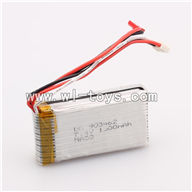 WLtoys V913 Battery,7.4V 1500MAH Battery,WLtoys V913 RC Helicopter Parts-Battery Parts