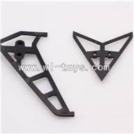 WLtoys V913 RC Helicopter Parts-Horizontal and Vertical Tail Parts-2pcs/set,WLtoys V913 Parts