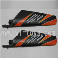 WLtoys V911 RC Helicopter Parts-Main blades,Main rotor blades,Propellers-(2pcs)-Orange