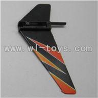 WLtoys V911 RC Helicopter Parts-Vertical wing(1pcs)-Orange
