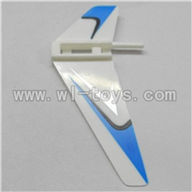 WLtoys V911 RC Helicopter Parts-Vertical wing (1pcs)-Blue