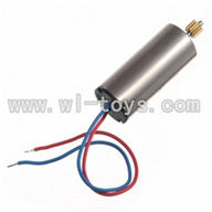 WLtoys V911 RC Helicopter Parts-Main motor with shaft and gear