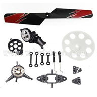 WLtoys V913 RC Helicopter Parts Crash set 5,WLToys V913 Parts