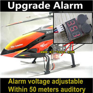 WLtoys V913 RC Helicopter Parts-Lower voltage alarm for the WL V913 V912 li-battery to ensure timely return(unofficial)
