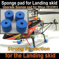Upgrade WLtoys V912 RC Helicopter Parts-V913 Sponge pad WL toys V913 RC Helicopter Parts