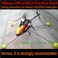 WLtoys V913 RC Helicopter Parts-V912 the special practice rack WL toys V913 RC Helicopter Parts