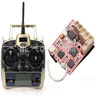 WLtoys V931 RC Helicopter Parts-Transmitter & Receiver board Parts-Can be used for V977 V966 V931