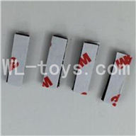 WLtoys V931 RC Helicopter Parts-Shock pad,sponge pad for the circuit board Parts-4pcs