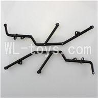 WL toys L959 L202 Parts-Roll Cage For WLtoys L959 RC Car Parts-RC Remote Control Car(2pcs)