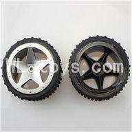 WLtoys L959 RC Car Parts-Front Tire Parts-2pcs,WLtoys L959 Parts
