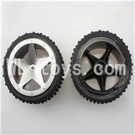 WLtoys L959 RC Car Parts-Rear Tire Parts-2pcs,WLtoys L959 Parts