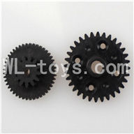 WLtoys L959 RC Car Parts-Rear gear box Reducers,Speed Reduction Gear,Wltoys L959 Parts