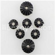 WLtoys L959 RC Car Parts-Motor Speed Control Planet Gear(2pcs Big & 5pcs small),Wltoys L959 Parts