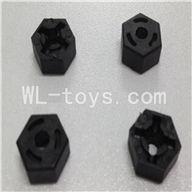 WLtoys L959 RC Car Parts-Hexagon Wheel SeatParts-4pcs,WLtoys L959 Parts
